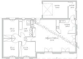 plan plain pied 4 chambres plan maison plain pied avec sous sol plan maison plain pied 4