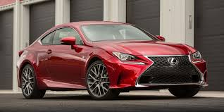 lexus rc 2015 lexus rc f vehicles on display chicago auto show
