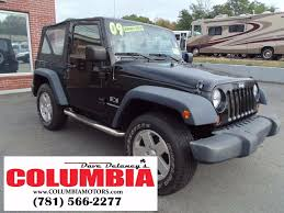 wrangler jeep 2009 2009 used jeep wrangler 4wd 2dr x at dave delaney u0027s columbia