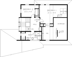 House Layout Drawing by Contemporary Style House Plan 3 Beds 2 50 Baths 2440 Sq Ft Plan