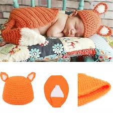 Baby Boy Photo Props Newborn Baby Boy Clothing Zootopia Nick Design 0 3 Month Knitted