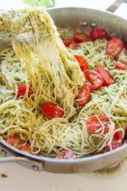 pasta recipes 20 minute cheesy pesto pasta oh sweet basil