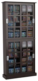 Media Cabinet With Sliding Doors Atlantic Windowpane 720 Media Cabinet With Sliding Glass Doors