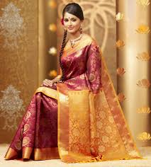 anushka shetty chennai silk saree advertisement jpg 1446 1600