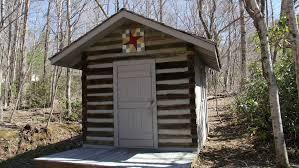 authentic stonebridge log cabin