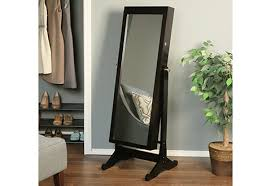 jewelry armoire with full length mirror sharper image
