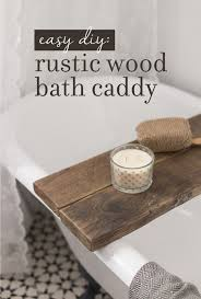 bathroom caddy ideas diy 5 bathtub caddy ideas casuable
