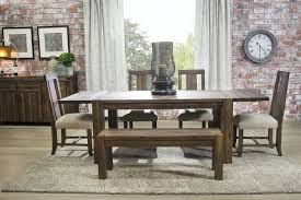 tips to choose dining room table with bench chairs with pict