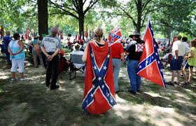 History Of Rebel Flag Confederate Flag Rally Tests A Diminished Ku Klux Klan Nbc News