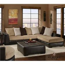 Albany Sectional Sofa Albany 348 San Marino Contemporary 2 Sectional With Raf