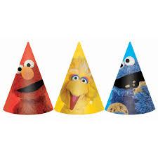 sesame street halloween background sesame street party cone hats birthdayexpress com