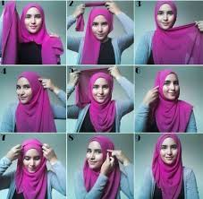 tutorial hijab pashmina tanpa dalaman ninja 5 kreasi hijab modern 2018 untuk penilan cantik dan modis