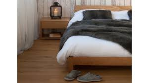 the nevada modern low bed a detailed look natural bed company