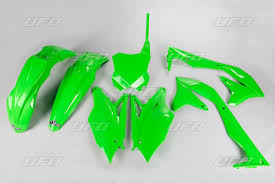 dekalkit se plastkit ufo kawasaki kxf 450 2016 2017 green edition
