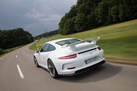 porsche white 911 2014 porsche 911 gt3 second drive automobile magazine