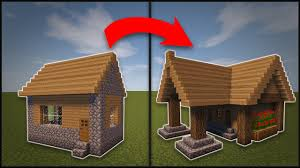 How To Remodel A House Minecraft How To Remodel A Village Library Youtube