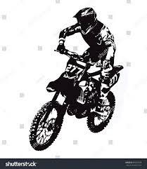 motocross freestyle riders motocross rider stock vector 656067928 shutterstock