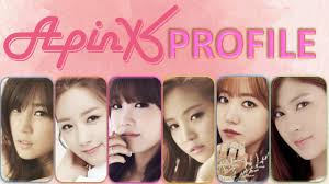 apink members profile apink perfil miembros youtube