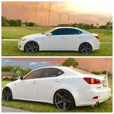 lexus is 250 custom wheels 20