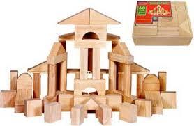 amazon com melissa u0026 doug standard unit solid wood building