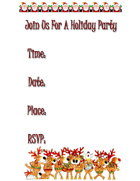 brilliant free christmas party invitations themes and free