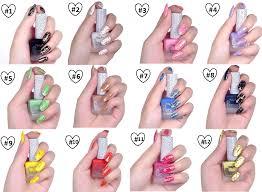 glamourr amour crackle nail polish