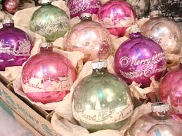 antique tree ornaments lights decoration