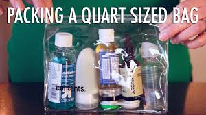 Kansas travel toiletries images How to pack your quart size bag jpg