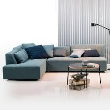 canap amovible canapé modulable contemporain en tissu avec revêtement