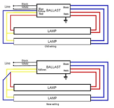 2 ballast with 4 lamps wiring diagram wiring diagrams