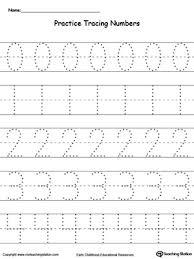 writing numbers for kindergarten kindergarten writing numbers printable worksheets