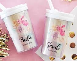 best flower girl gifts flower girl cup etsy