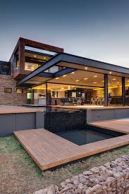 modern home architects house boz form nico van der meulen architects design