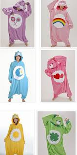 Halloween Costumes Care Bears Care Bears Movie Ii Generation Animal Onesies