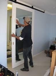 Ikea Sliding Barn Doors Outstanding Mirrored Sliding Doors 64 Mirror Sliding Doors Price