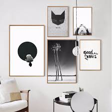 Nordic Home Online Get Cheap Abstract Cat Art Aliexpress Com Alibaba Group