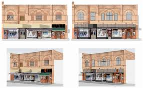 Century Awnings Historic Preservation In Bozeman Montana By Yellowstone Architects
