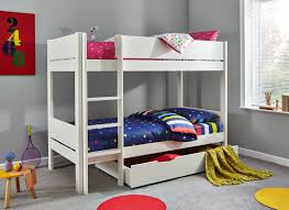 Tinsley Bunk Bed With Drawer White Dreams - Under bunk bed storage drawers