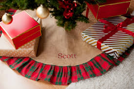 personalized tree skirt personalized christmas tree skirt christmas lights decoration