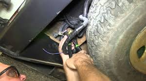 installation of a trailer wiring harness on a 2008 chevrolet
