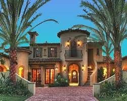 mediterranean style house plan 4 beds 4 5 baths 6755 sq ft plan