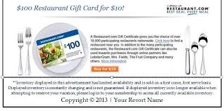 restaurant gift cards online restaurant voucher ctico