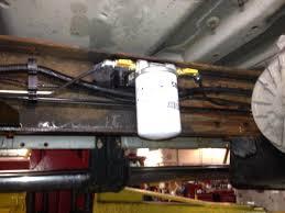 in line fuel filter pre pump ford powerstroke diesel forum