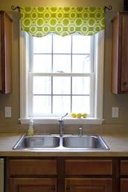 kitchen window valance ideas diy easy no sew window valance pottery barn inspired valance