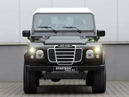 land rover modified startech land rover defender series 3 1 concept suv cars modified