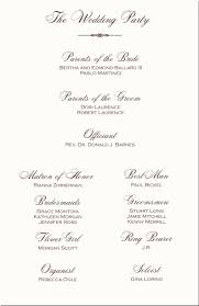 print your own wedding programs wedding program templates from thinkweddings print your own