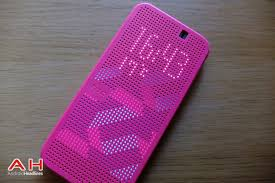 featured review htc dot view case for the one m9