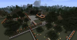 Jurassic Park Map Jurassic Park In Minecraft Maps Mapping And Modding Java