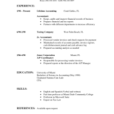 Standard Resume Templates Perfect Resumes Examples Sample Simple Resume Samples Template