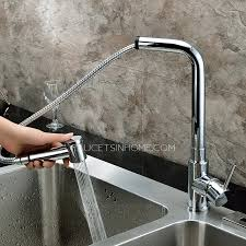 Lead Free Kitchen Faucets Modern Pullout Rotatable Copper Lead Free Kitchen Faucet